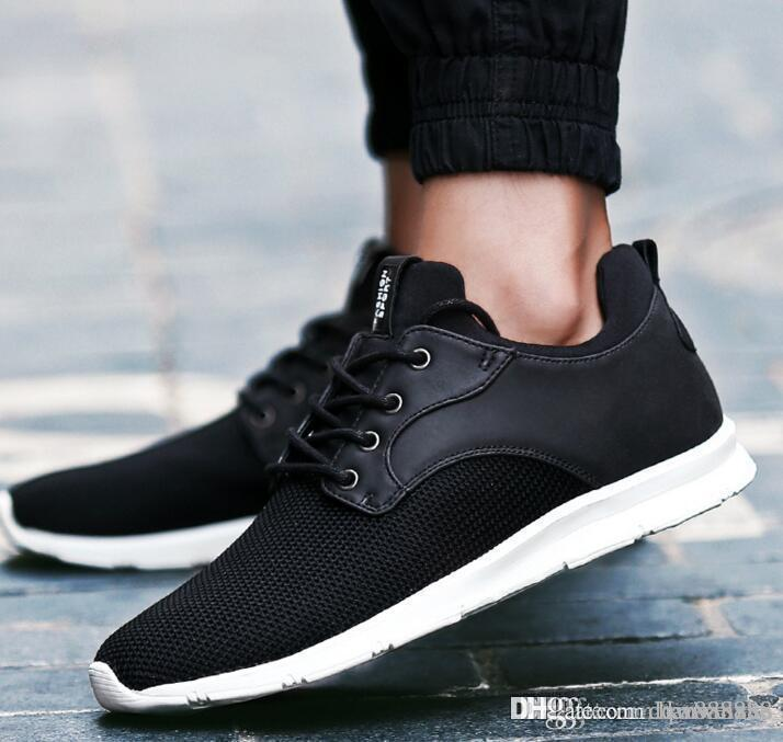 Designer Shoes Mens Designer Shoes Casual Breathable Comfortable Flat Fitness Shoes Outdoor Trainers Sneakers Sport Sneakers KQ96