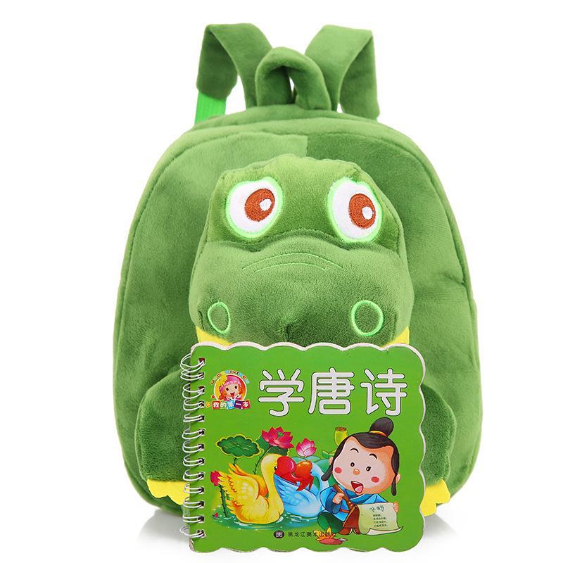 5 개 색상 아기 귀여운 공룡 봉제 인형 배낭 가방 어린이 만화 봉제 인형 공룡 배낭 어린이 유치원 학교 가방 DH1268 T03