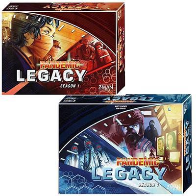 Pandemie Legacy-Staffel 1 Blue Red Edition Brettspiel BETRUNKEN Drinking Game Card