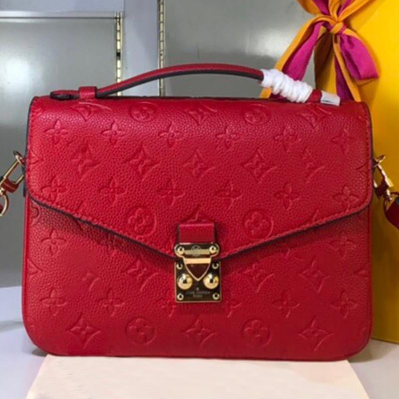 Vente en gros cuir Lady Messenger Bag Femmes Mode Satchel sac à main Sac bandoulière rouge presbytie Mobile Package Téléphone Type5