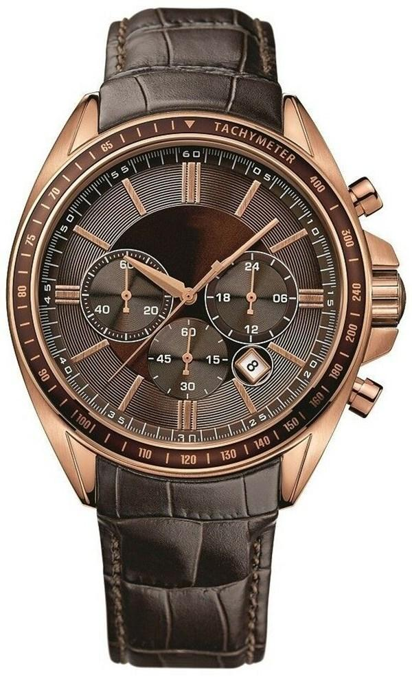 Vendita calda di sport della vigilanza Chronographe B1513092 + 1.513.093 al quarzo cinturino in pelle movimento orologio da uomo