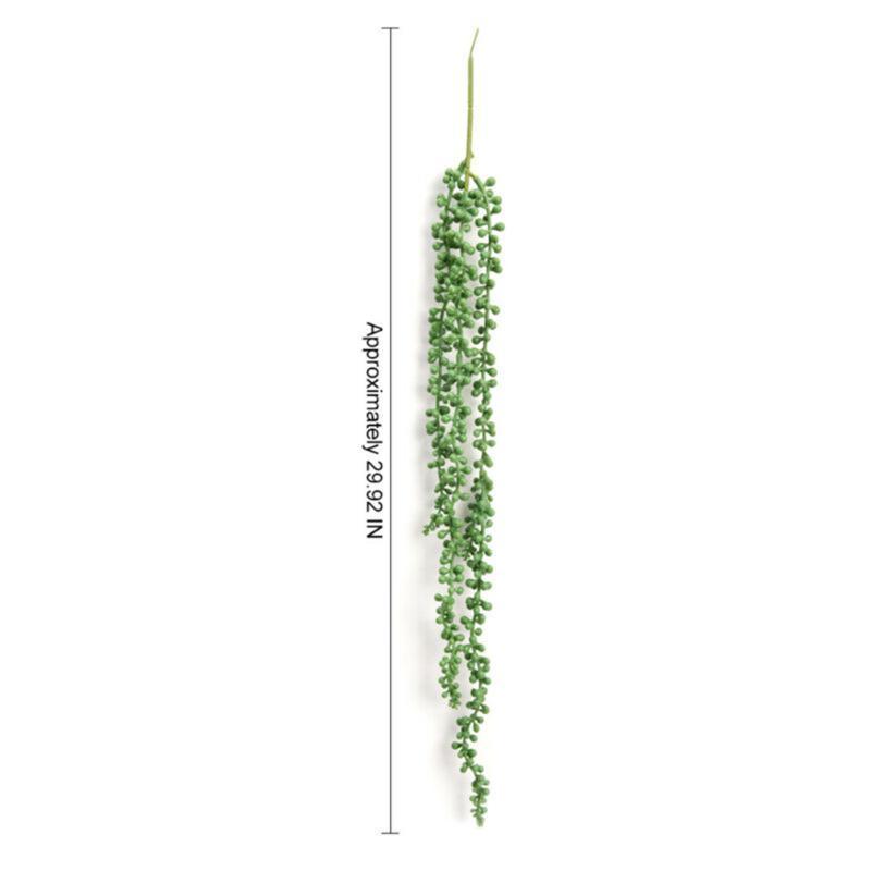 2pcs Artificial Ivy Trailing Vine Falso Folha de suspensão da flor da festa de aniversário de casamento Planta Folha Garland favores Detalhes