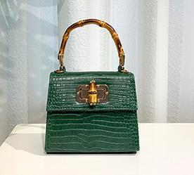 2020 New Designer Small Square Bag Luxury Handmade Bag Crocodile Pattern Ostrich Slub Hand Shoulder Diagonal Bag Best Selling