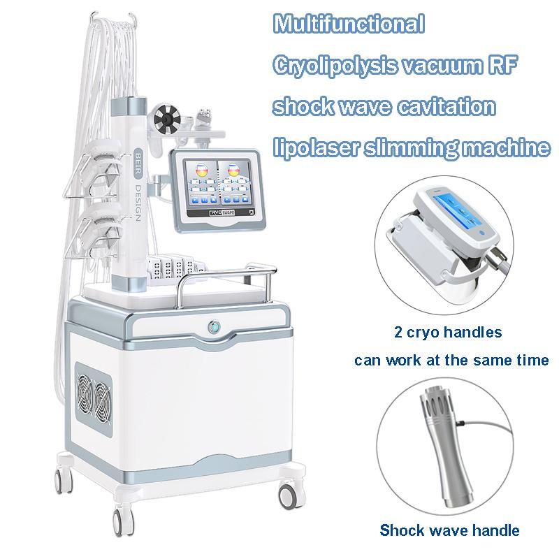 используйте ручную одобренную машину лазера lipo радиочастотная кожа затягивает терапию ударной волны липосакции кавитации для пользы спы
