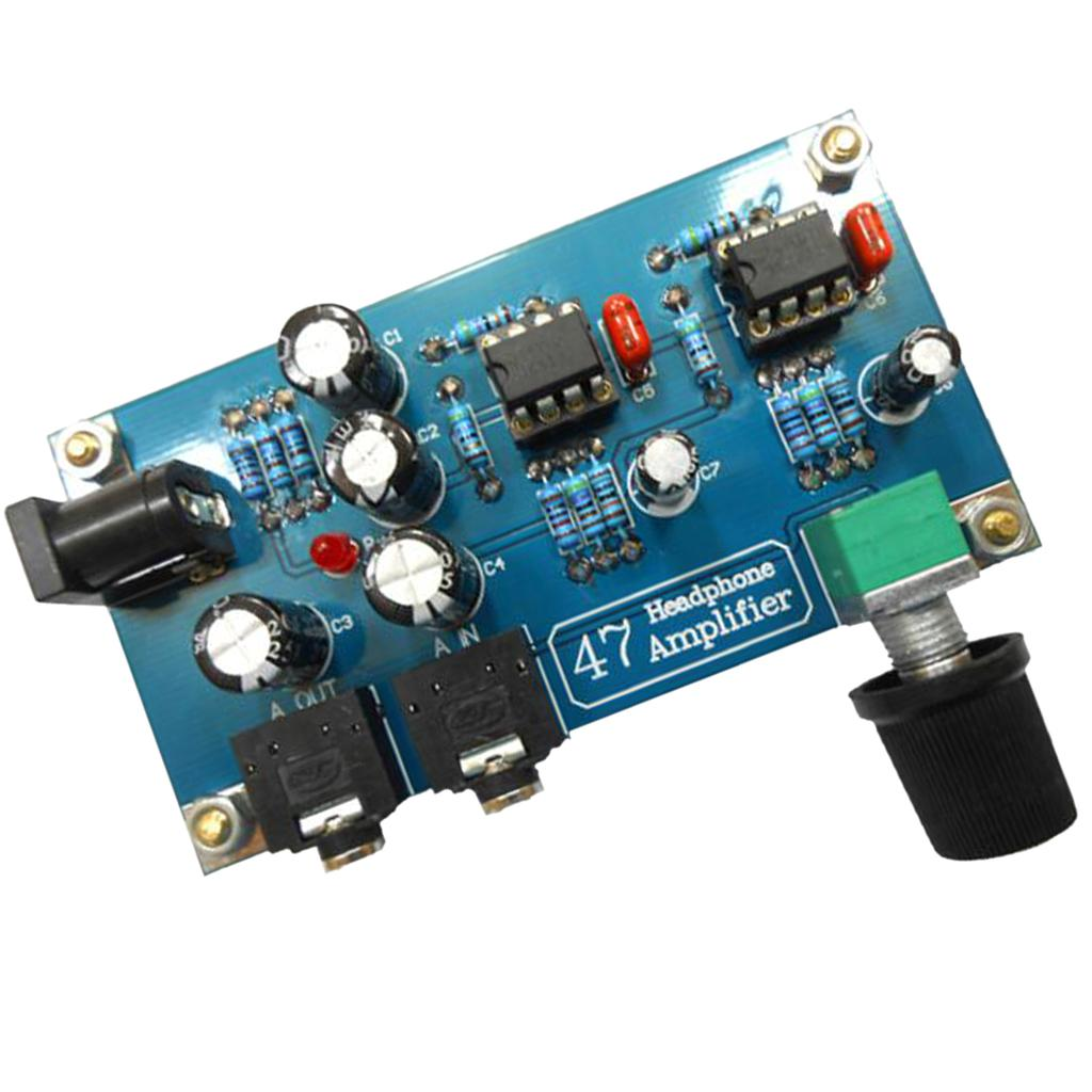 Tragbare Kopfhörer-Verstärker AMP-Brett-Modul-Kits für Classic 47 DIY Fall