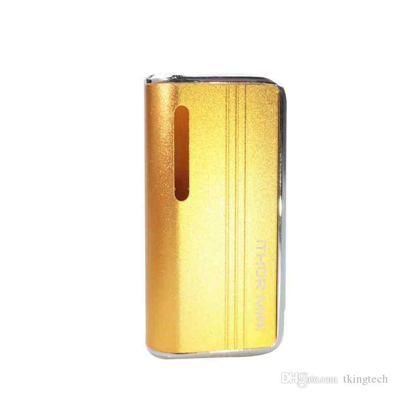 510 Kalın Petrol Kartuşunda E Sigaralar ZTCSMOKE Buhar Mod Pil iTHOR MINI400mAh Onceden Gerilim Değişken