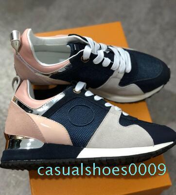 Designer Shoes 2019 NOVO Luxo sapatos de couro casuais Mulheres sapatilhas do desenhista sapatos masculinos genuína moda em couro c09 cor misturada