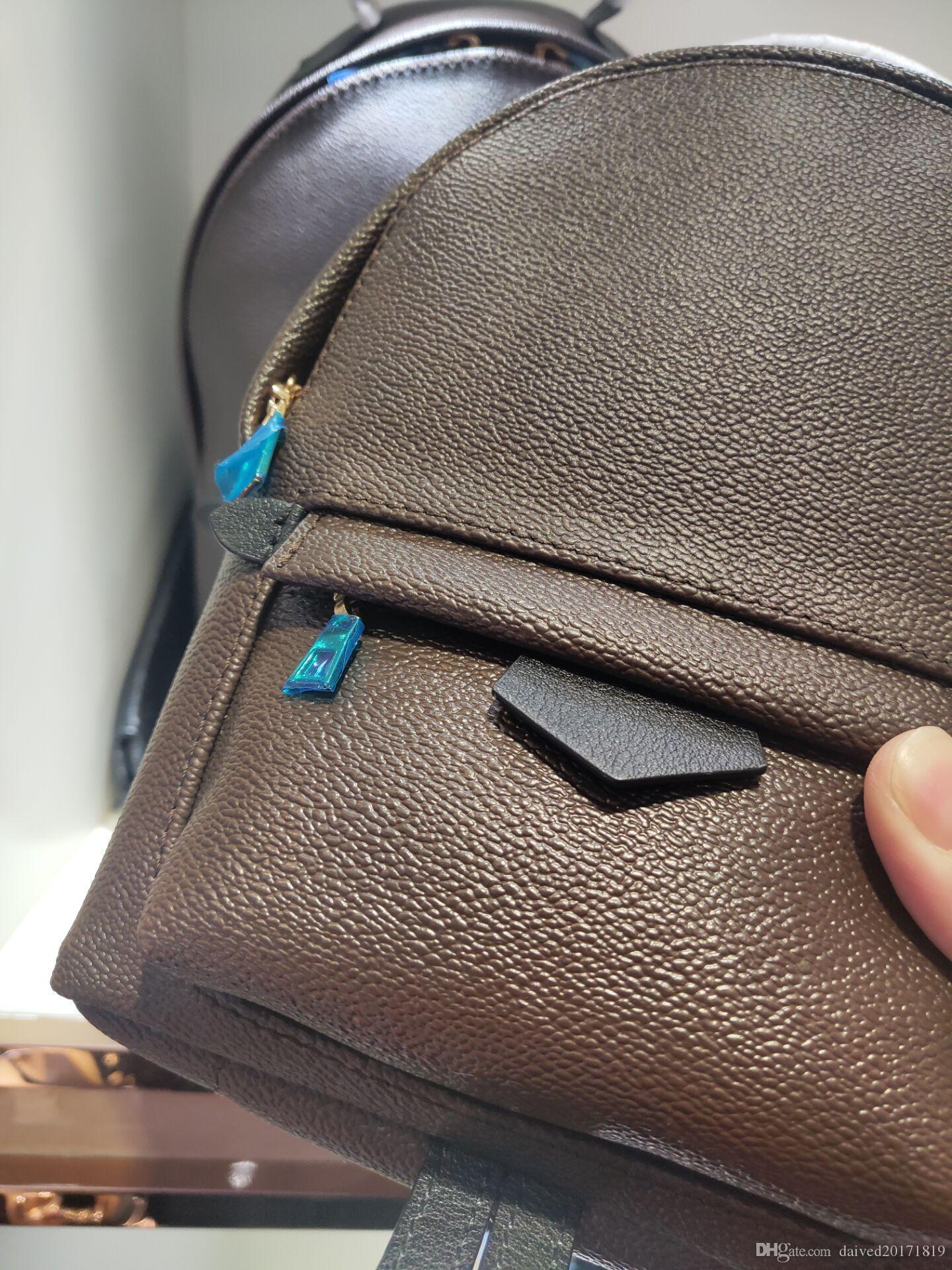 donne stile Europ classico sacchetto del fashon Moda Palm Springs Zaino Mini genuino di cuoio per bambini zaino stampa in pelle 41562