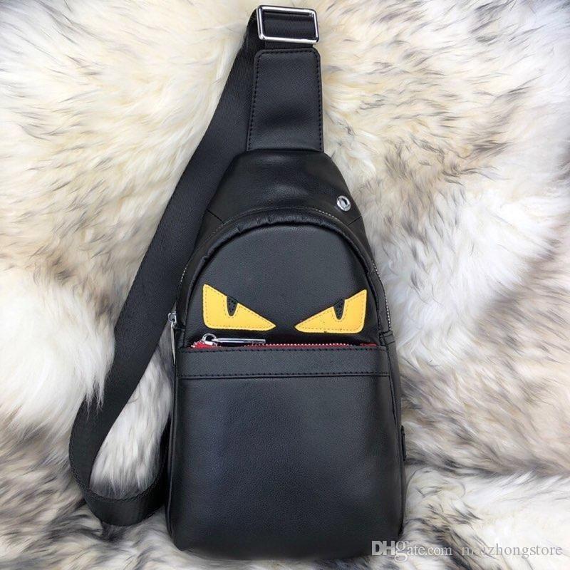 дизайнер роскошные сумки кошелек монстр глаз вкладыш портмоне мешок человека неподдельной кожи высокого качества Ф fannypack сумочки сумка