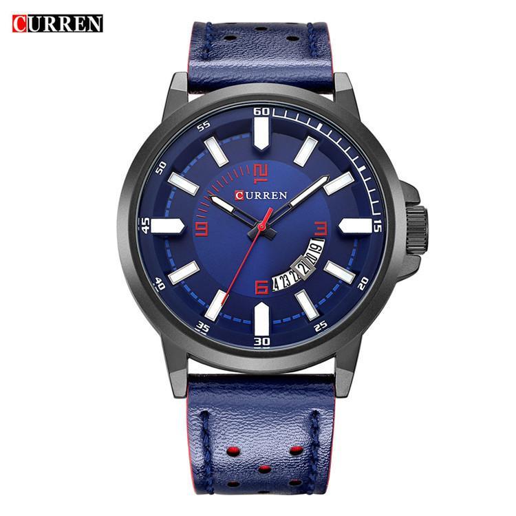 marchio di moda impermeabile Curren orologio carogne commercio estero degli uomini vigilanza calda della vigilanza di sport