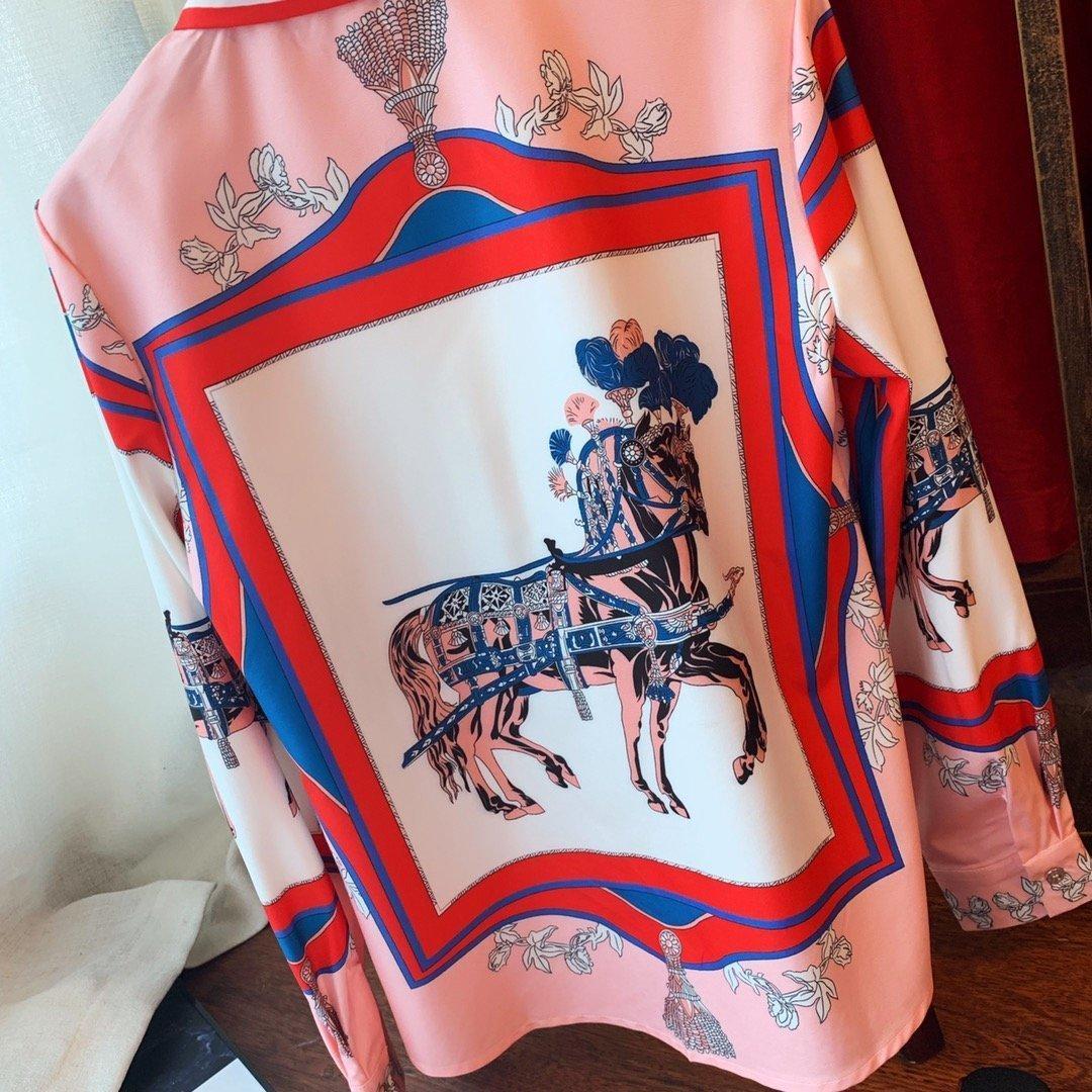 Designer-Bluse der Frauen Sommerblusen Tops für Frauen Bluse Frau heiß gehetzt besten Großhandelsfrühlingsart Charme WUNI 62W7 62W7 Tops