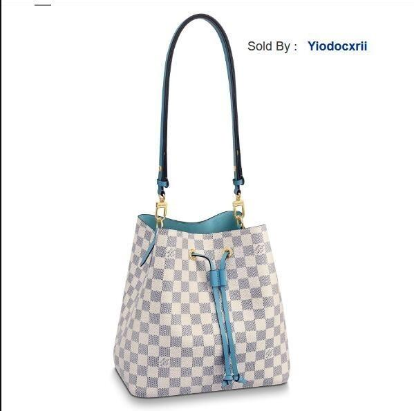 yiodocxrii 6IHT Néonoé Canvas Bucket Bag Shoulder Bag N40152, N40153 Totes Handbags Shoulder Bags Backpacks Wallets Purse