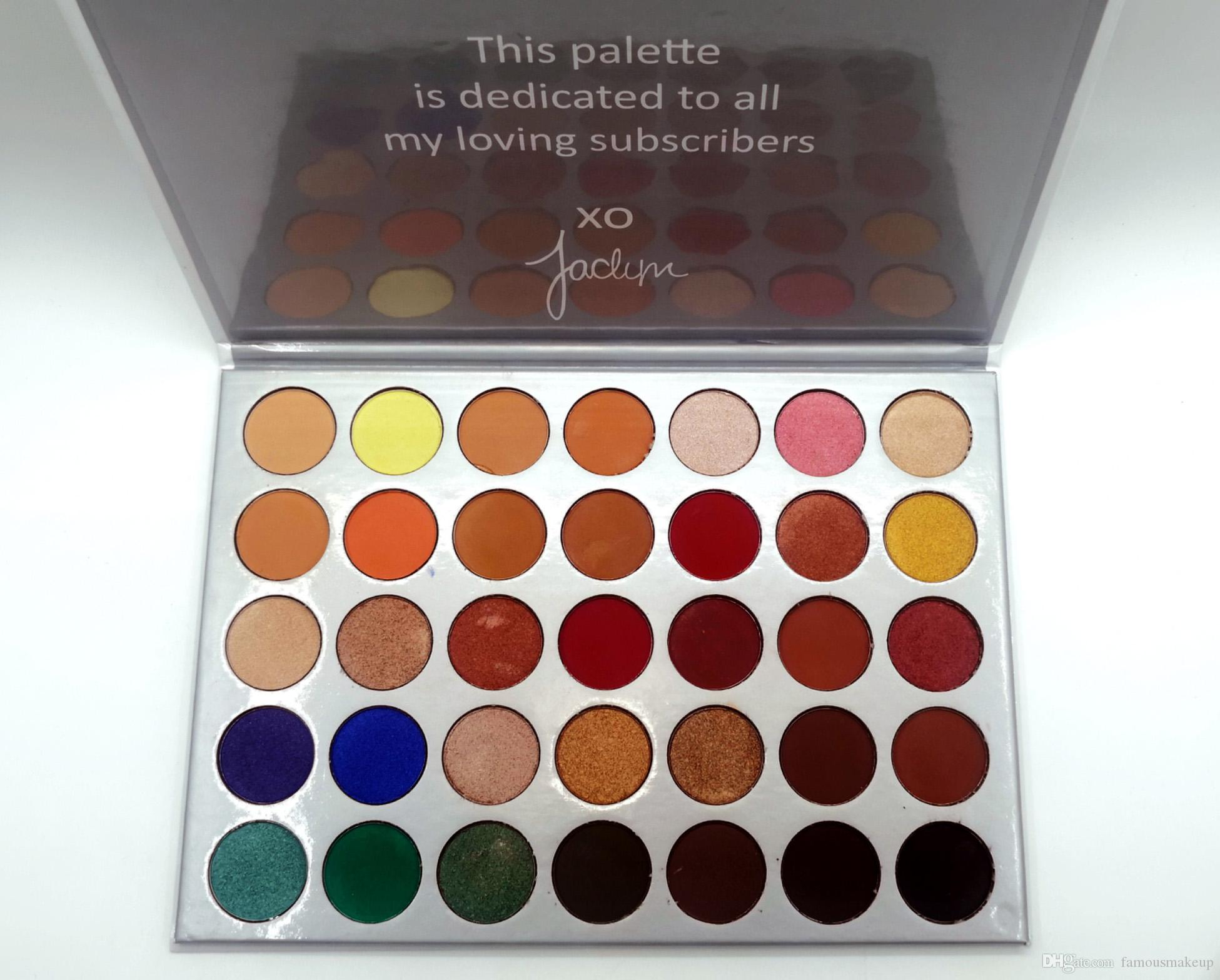 A +++ Kalite !!!! Stokta M marka makyaj Göz Farı Paleti 3 * 5Color far Paleti'nde