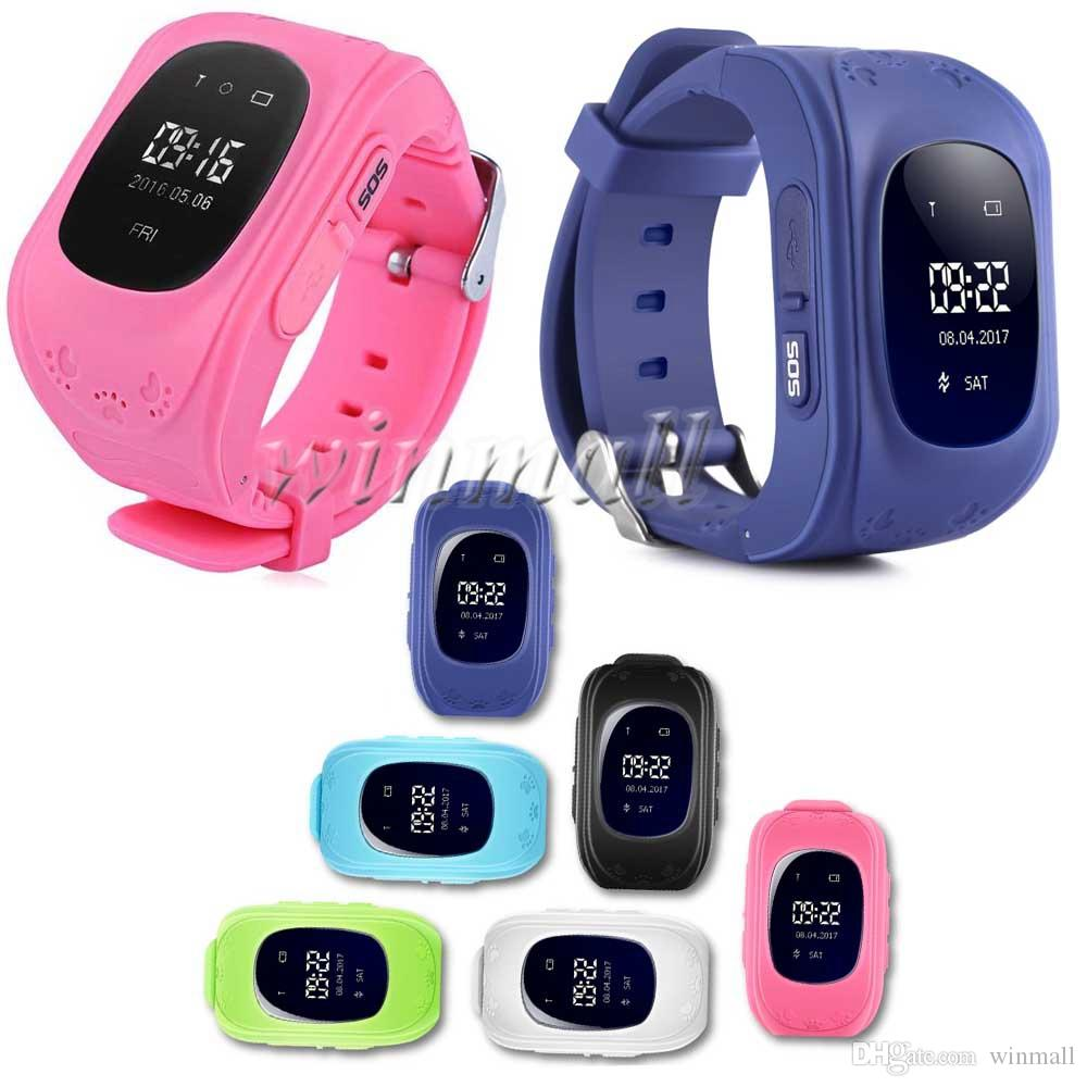 Cheapest Q50 LCD LBS Tracker for Child Kid smart Watch SOS Safe Call Location Finder Locator Trackers for Kids Children Anti Lost Monitor