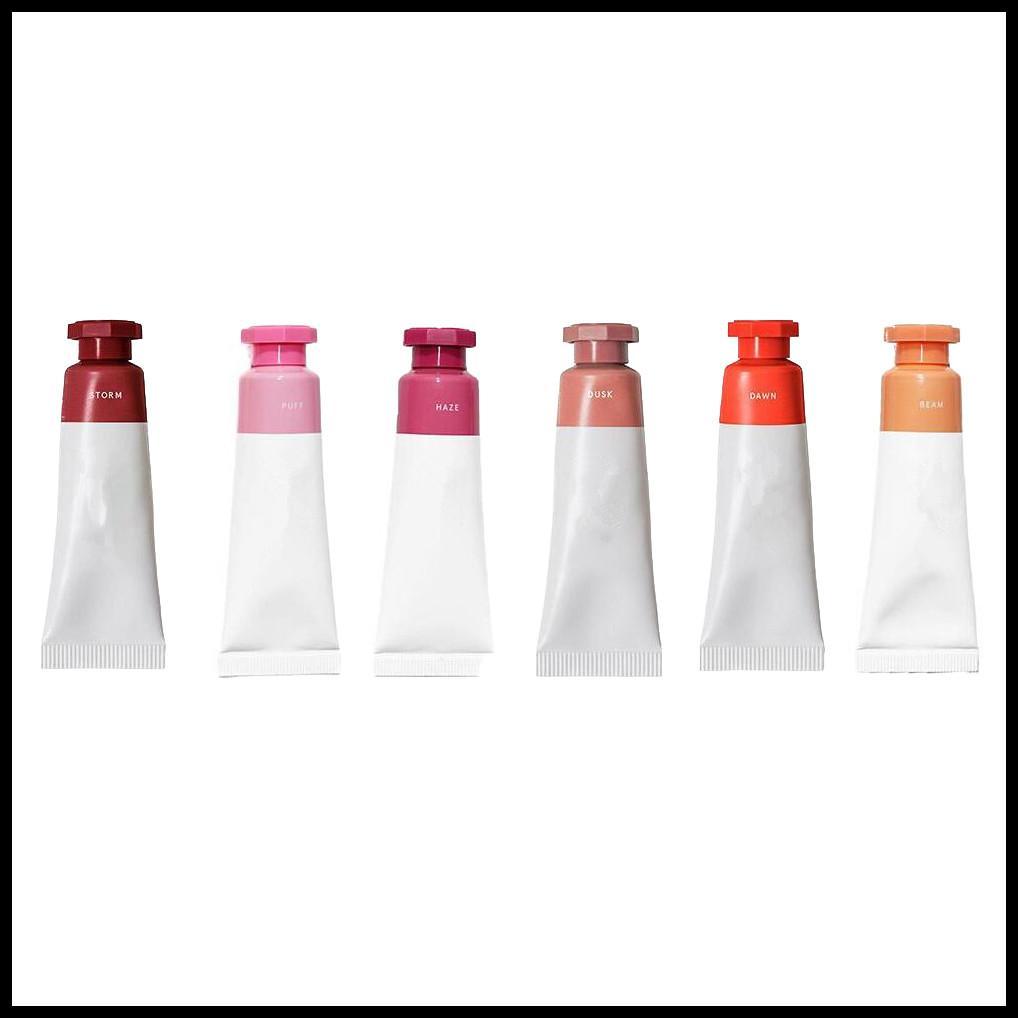 블러쉬 화장품 6 색 액체 블러쉬 새벽 폭풍 안개 빔 퍼프 핫 메이크업 ePacket 드롭 오리 출하 최고 품질