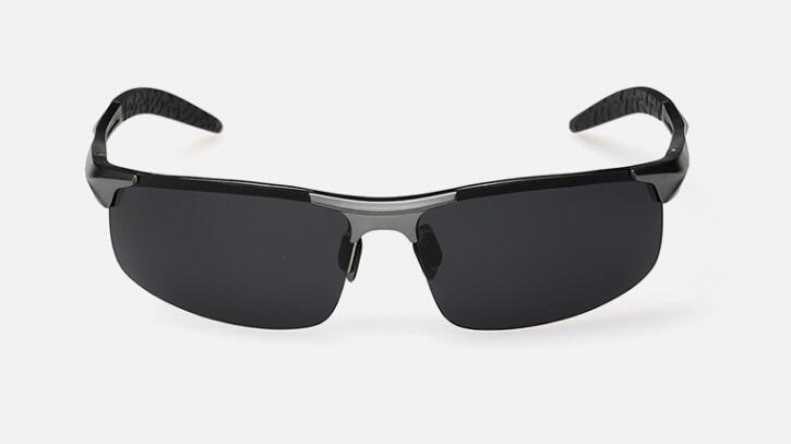 Al por mayor-aluminio gafas de sol polarizadas de verano al aire libre en bicicleta UV400 gafas de sol de los hombres el envío libre