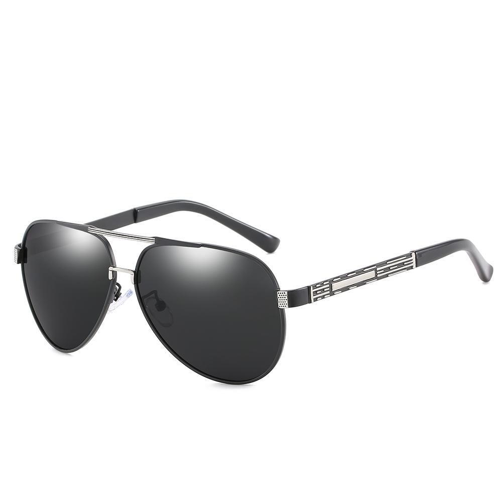 Diseñador de la marca para hombre Gafas de sol de conducción Gafas de sol polarizadas para hombres Gafas de sol polarizadas de negocios de gama alta Gafas de calidad superior Envío gratuito