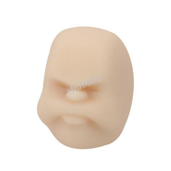 جديد غريب الوجه تنفيس مكتب الكرة تخفيف الضغط لعبة الوجه الإنسان دمية لينة TPR ضغط المطاط لعبة