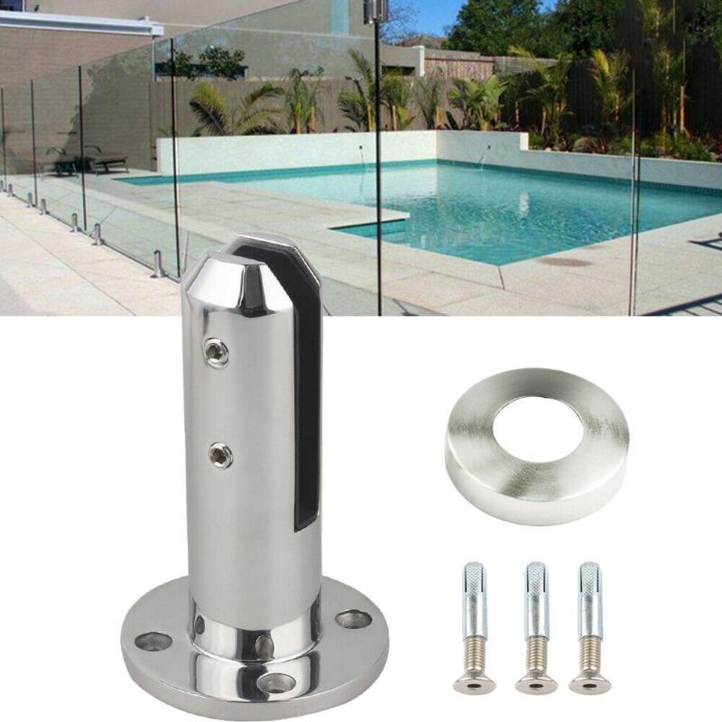 Accesorios de piscina Pinza de cerca Spigots de acero inoxidable Glass de cristal templado Barandilla Balcón Balcón Pies de natación