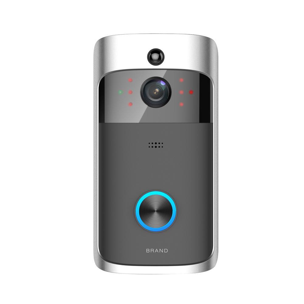 Smart IP vidéo Intercom WIFI vidéo téléphone sonne Sonnette Cam WIFI Sonnette caméra Accueil Alarme Caméra de sécurité sans fil