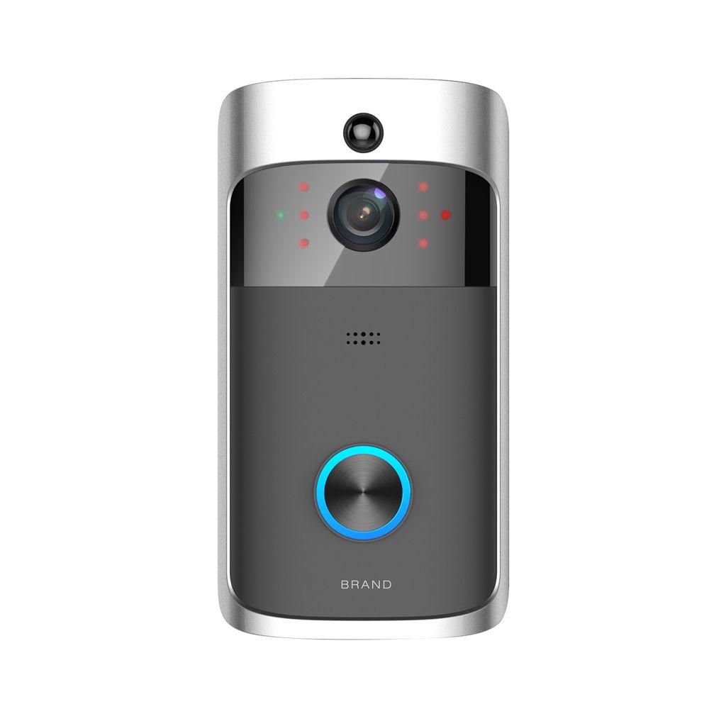 Smart IP-видео домофон WiFi кольцо телефона дверной колокольчик Cam дверная звонка камеры домашняя сигнализация беспроводная безопасность