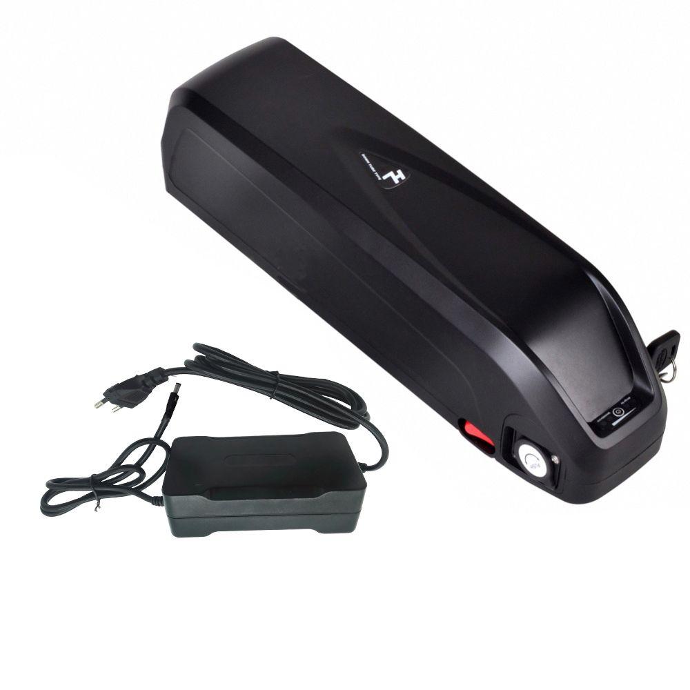 Keine EU-Steuer! downtube Batterie Flasche für Panasonic Li-Ionen-Elektro-Fahrrad-Batterie für 8Fun 48V 16Ah / Bafang 750W 500W Motor-Kit BBS02