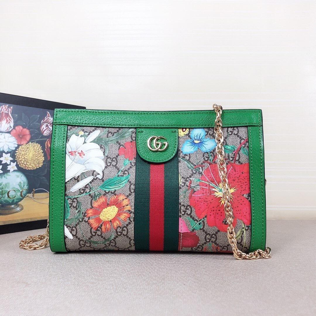 Neue Damenmode Handtasche der Qualitätsfrauen heiße Schulter Crossbody Beutel Blumendruck 02201101