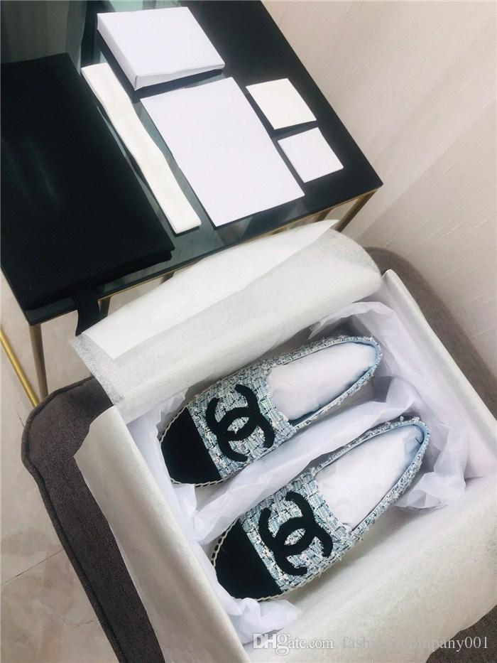 Mocassins classiques pour femmes, pantoufles plates d'espadrille avec tissage de paille, chaussures décontractées pour femmes, à enfiler pour une utilisation quotidienne