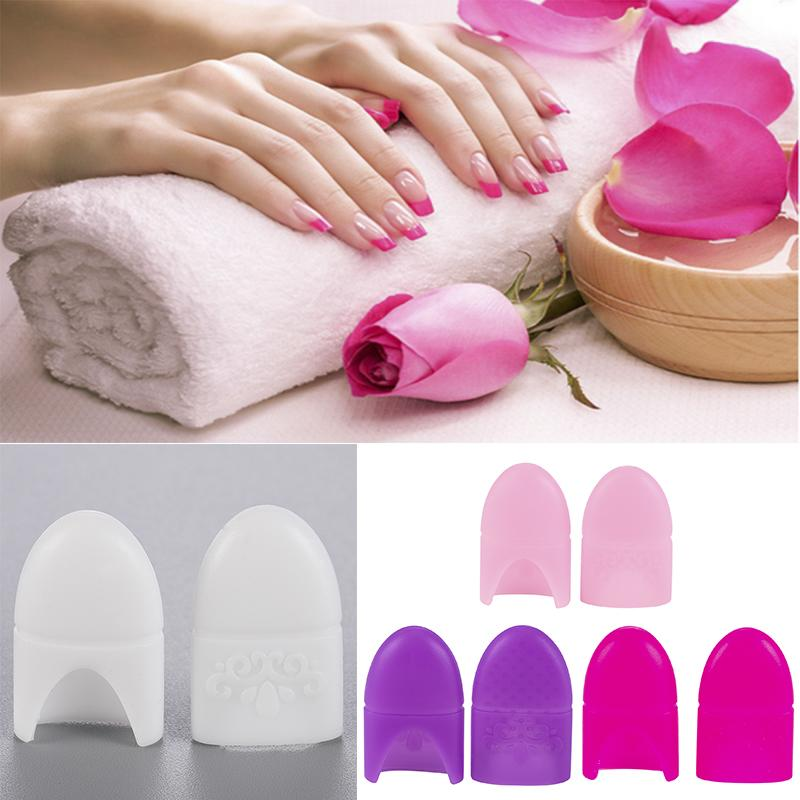 Art & Tools Remover 10 Pcs Silicone Nail Polish Remover UV Gel Polish Cleaner Degreaser Nail Art Tips for