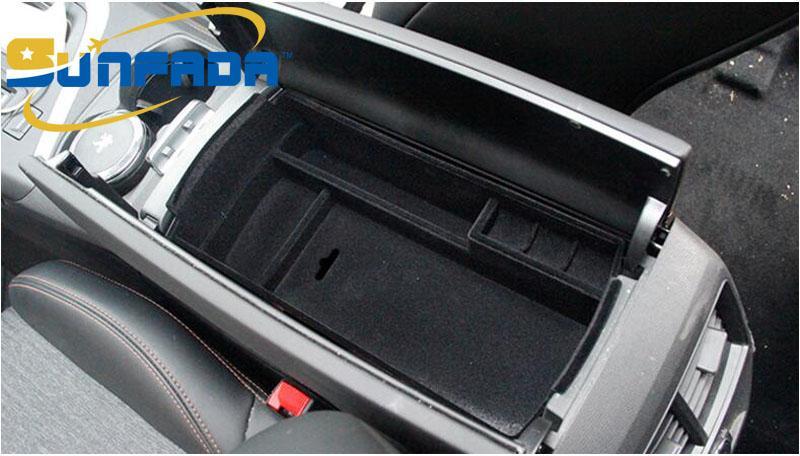 Front Door Armlehne Aufbewahrungsbox Container 2 für Peugeot 3008 GT 2016-2018