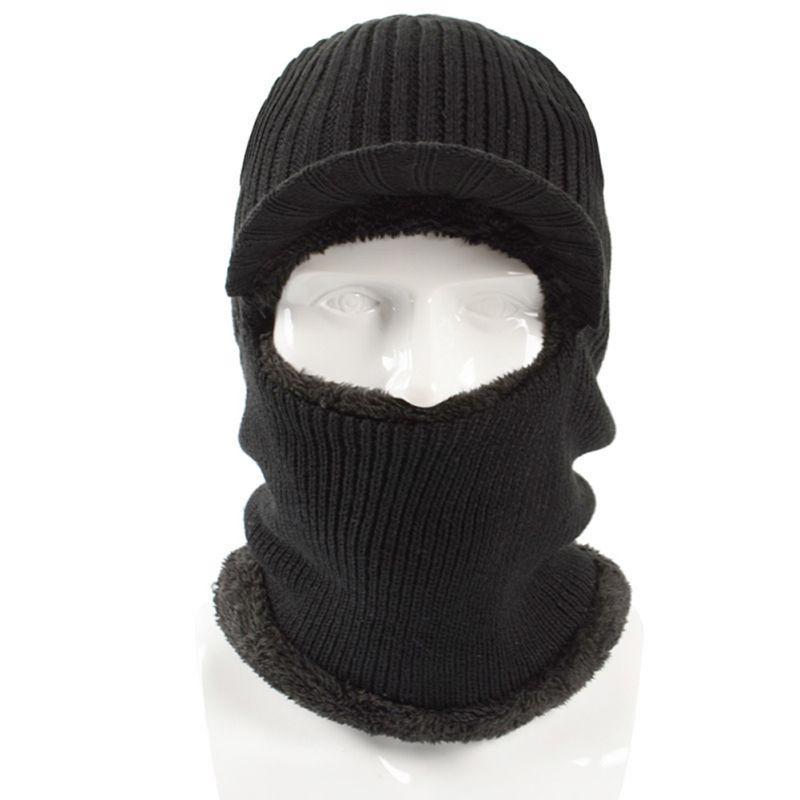 hiver 2019new chaud chapeau de laine de mode chapeau tricot hommes en plein air et les femmes chapeau de protection contre le froid