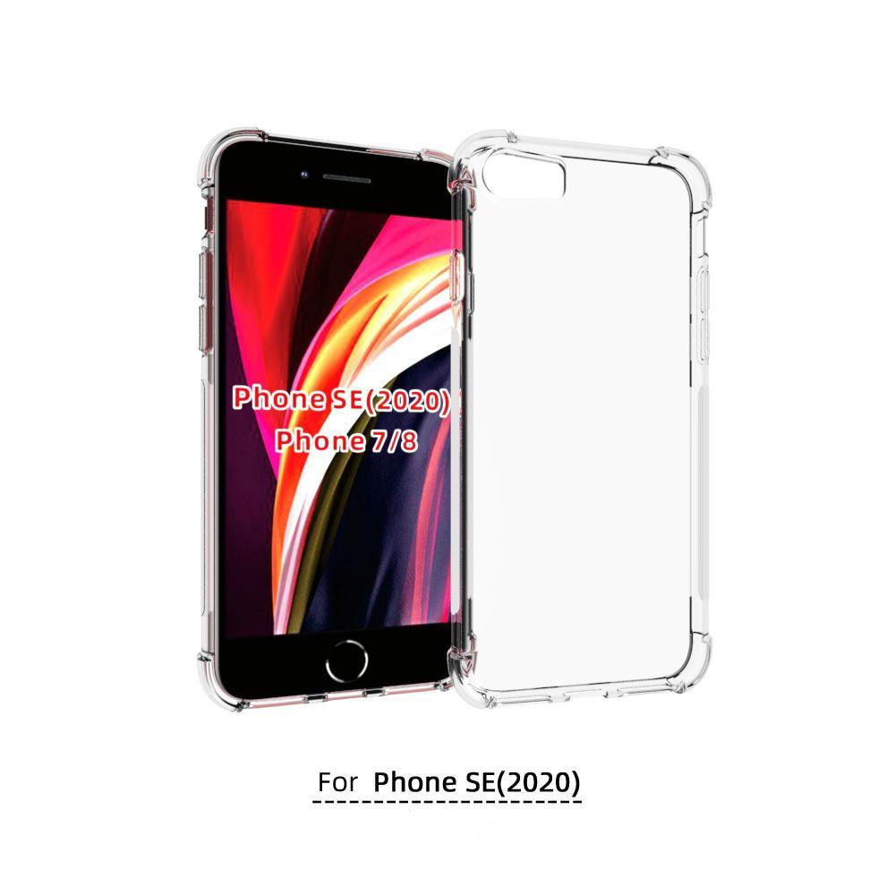 Casos IPhoneSE mayor de la alta calidad TPU Cubiertas para 2020 cubierta protectora nuevo iPhone ajuste perfecto IPhoneSE de Tpu teléfono con Airbag