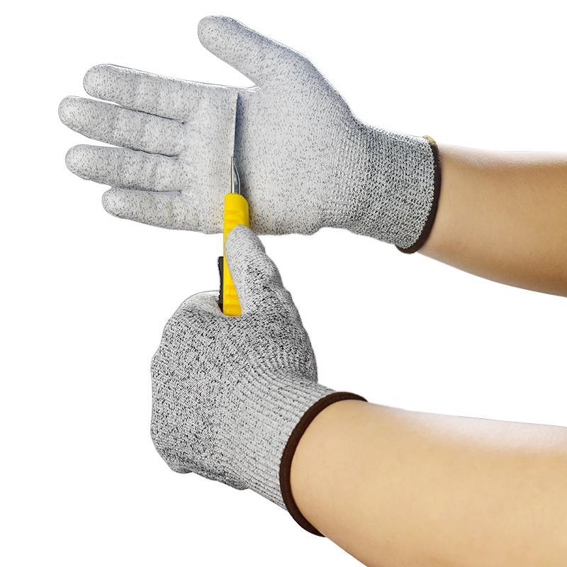 home2010 sicurezza antitaglio Stab resistente in acciaio inox maglia metallica Butcher guanti resistenti al taglio Guanti di sicurezza Grey