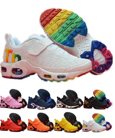 2019 Designer Toddler Kids Mercurial High Quality Plus Rainbow Kpu Running Tpu Children Pour Enfants Athletic Sports Trainers Sneakers Shoes Spikes