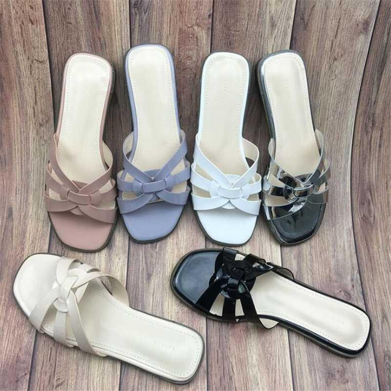 Pantofole donna Flip Flops diapositive Pantofole Scarpe donna Estate Appartamenti moda femminile Casual Shoes Designers