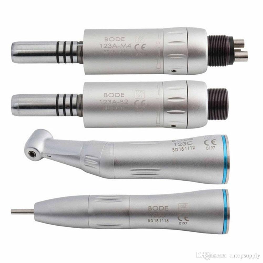 Turbine à main à vitesse réduite dentaire Handpiece de Handpiece droit d'air intérieur de moteur à angle droit d'angle 2 / 4Holes 123