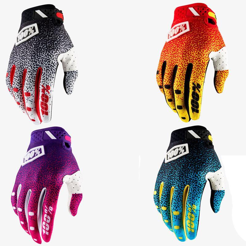 Велосипедные перчатки дышащий лето Мотоцикл Спортивные перчатки Марка Mens для женщин велосипед Non-Slip велосипедов езда Полный Finger Длинные перчатки 1325