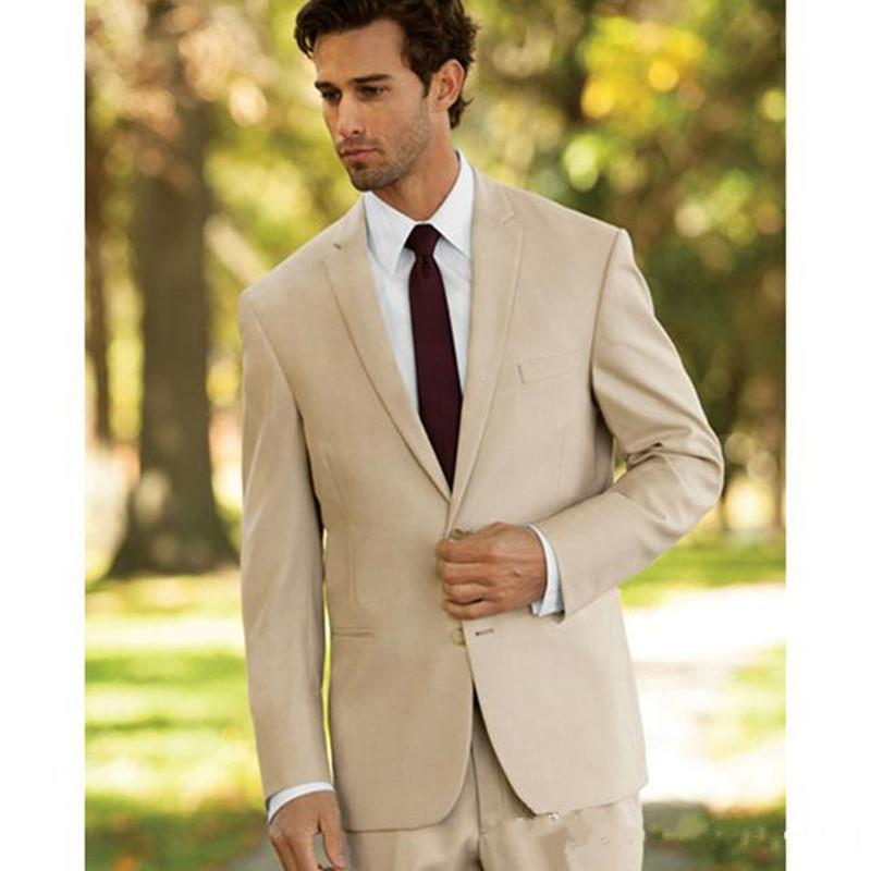 Yeni Özel Erkekler Düğün Smokin Damat Damat 2 Piece (Ceket + Pantolon) En İyi Erkek Balo Blazer 544 Wear Suits Suits