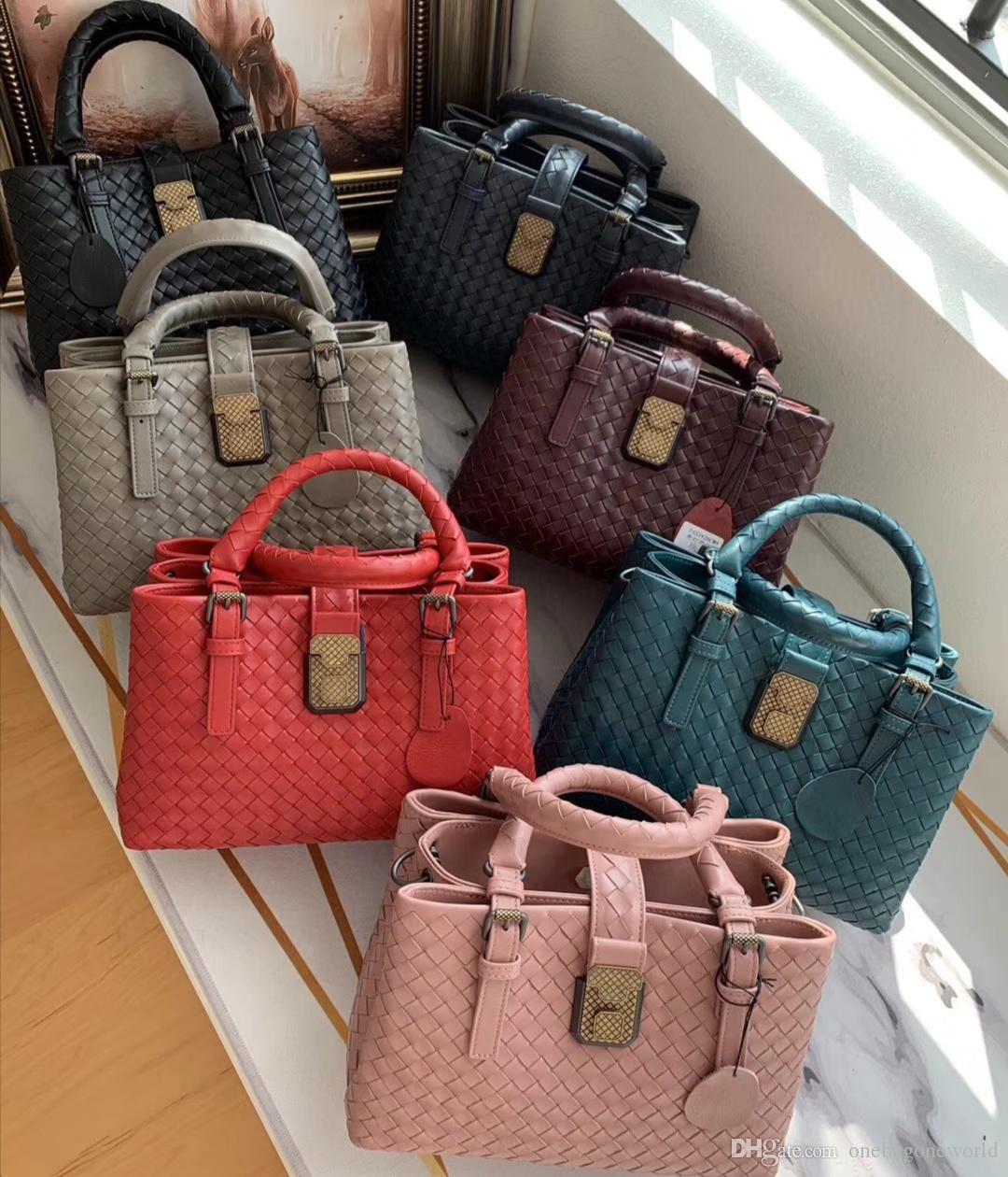 Petit sac roma de qualité supérieure concepteur gros sac à main crochet sacs véritable épaule en cuir dame sac de luxe sac à la main livraison gratuite