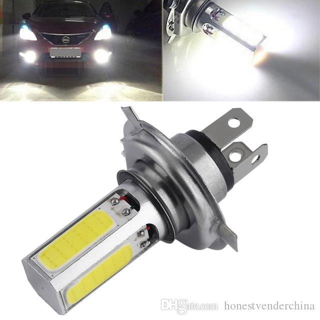 Işık Lambası DC 12V Motosiklet Sürüş ışıkları Running 2pcs Süper Parlak Beyaz 20W H4 Otomobil için LED Sis Gündüz