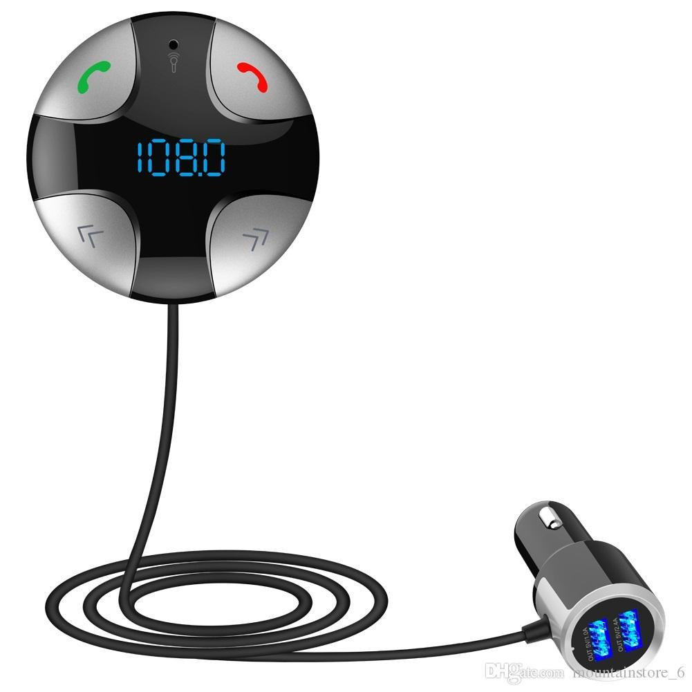 FM29B سيارة كيت MP3 لاعب بلوتوث اللاسلكية وزير الخارجية الارسال USB دعم SD TF بطاقة العرض LCD USB شاحن سيارة لفون الروبوت (التجزئة)