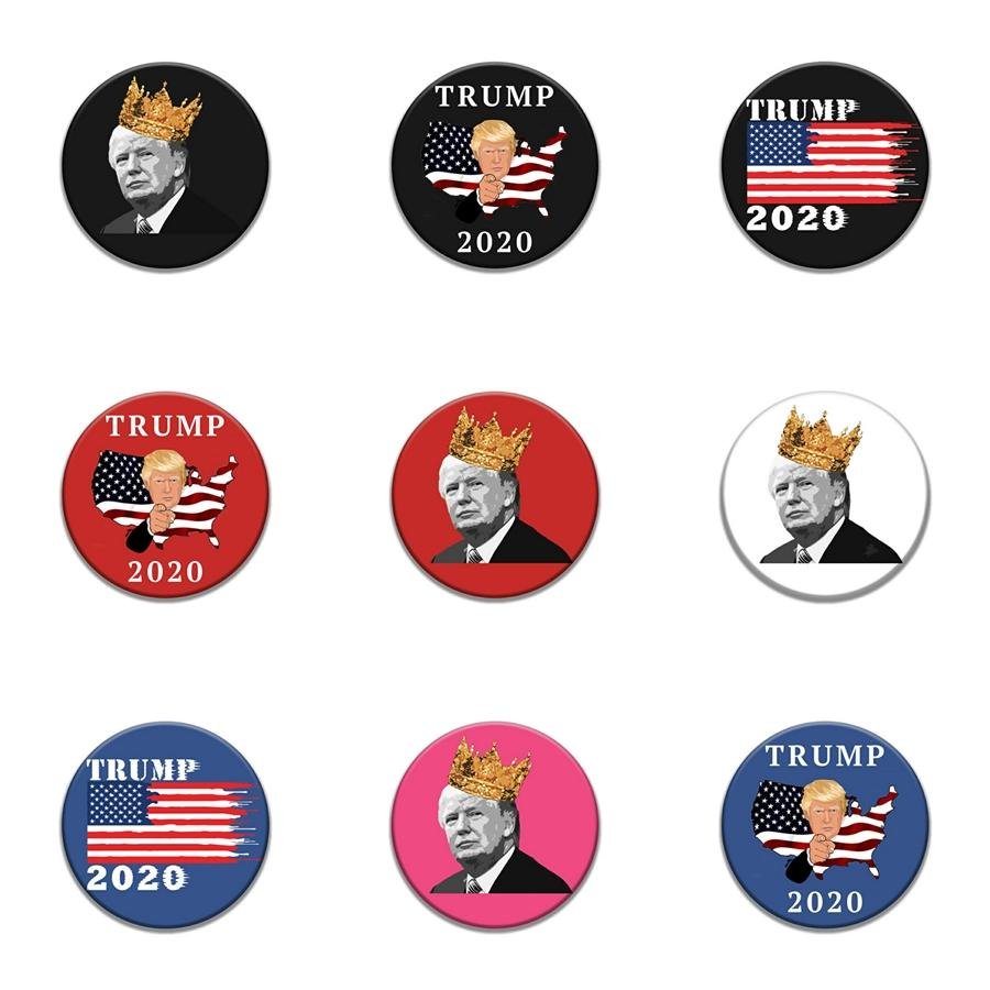 Free Remover Repellent Lapel Pin Funny Cleaning Detergent Spray Enamel Brooch Pins Trump Badges Gifts 5 Styles #429