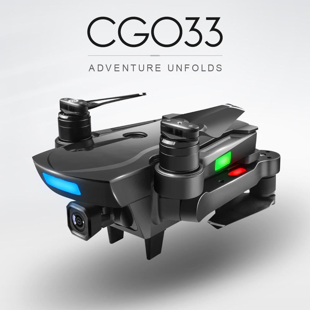 CG033 بلا فرش 2.4 G FPV Wifi HD الكاميرا Gps الارتفاع عقد Quadcopter طائرة بدون طيار لوصول جديد T200420