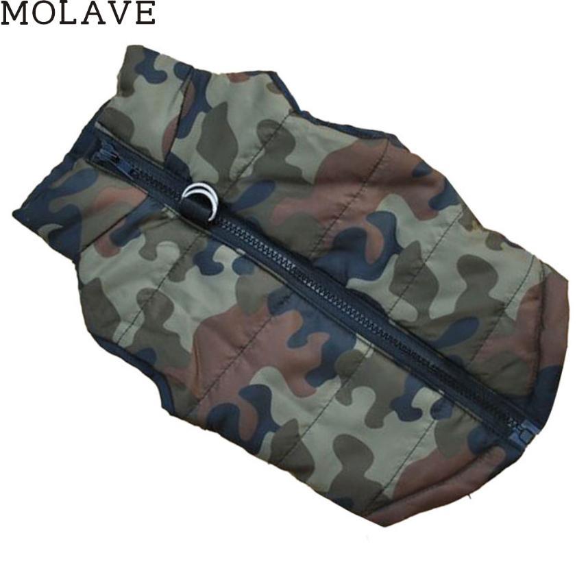 Molave Hot vente 5 couleurs Mode pour animaux en tissu chien en tissu pour chien d'hiver en tissu Pet coton Gilet Bonne année Cadeaux pour vos animaux de compagnie
