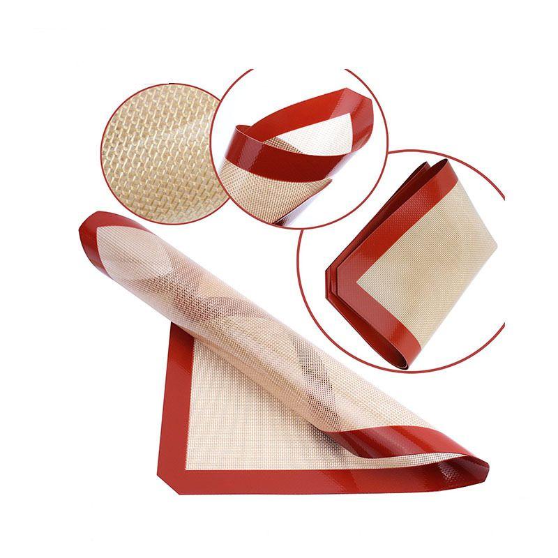 ماتس سيليكون Dab غير عصا للشمع 30 سم × 21 سم (11.81 × 8.27 بوصة) سيليكون الخبز حصيرة Dab النفط خبز الجاف عشب