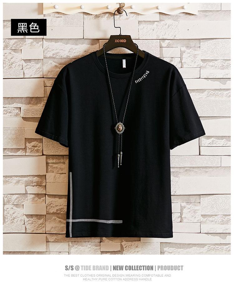 Tasarımcı T Shirt Erkek Giyim Tee Gömlek Tide Braned Mektupları Baskılı Erkek Giyim T Shirt erkek t-shirtsClothing Tişört erkek tişört 69