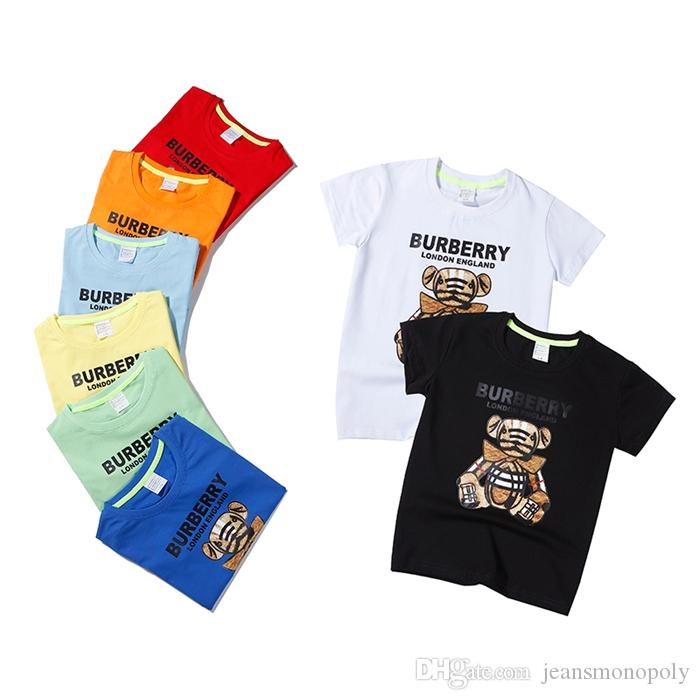 MOWAN Toddler Short Sleeve Crew Neck T-Shirt Suitable Family Tees