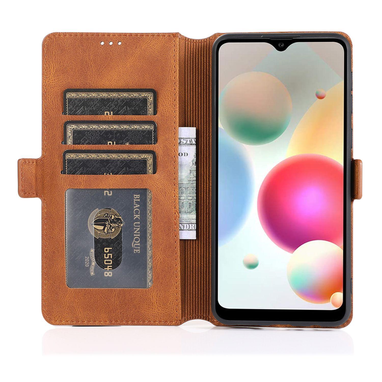 el envío libre al por mayor del caso para Samsung A21 de lujo elegante de cuero genuino real cubierta del teléfono Bolsas con gota resistente