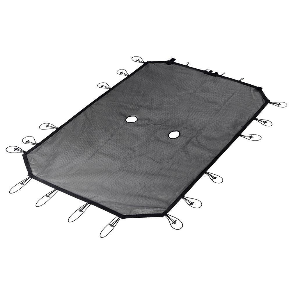 Mesh Shade-Abdeckung bietet UV-Schutz für den Jeep Wrangler 4-Door JKU JKU JK Roof 2007-2018