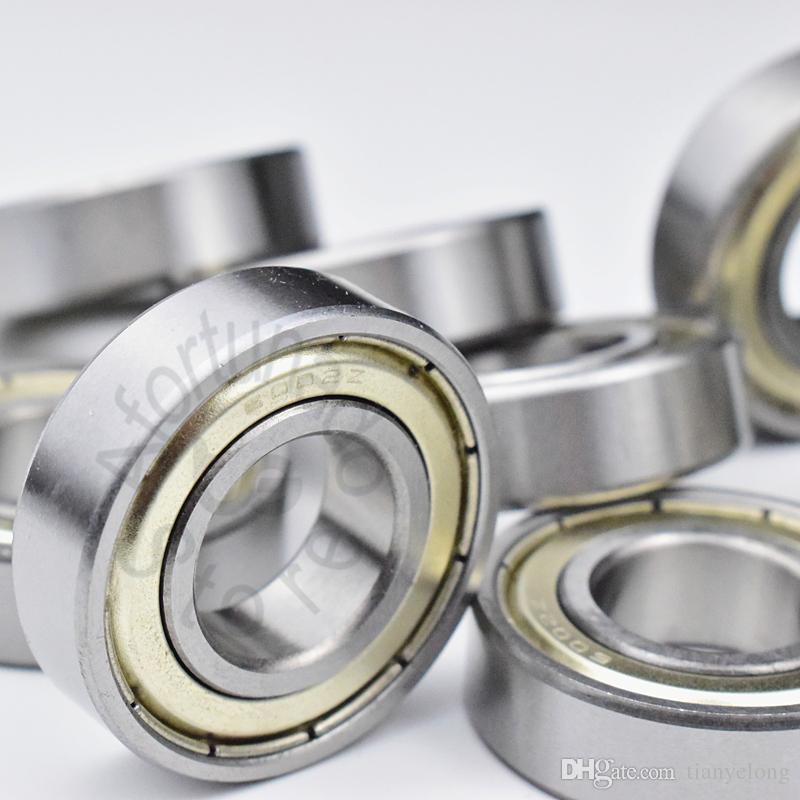 6002ZZ 1Pièce roulement roulements d'étanchéité métalliques Livraison gratuite 6002 6002Z 6002ZZ 15 * 32 * 9mm en acier chromé roulement rainuré